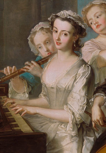 french baroque musical scene