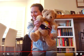 song for babies with teddy bear