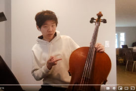 Cello demonstration video